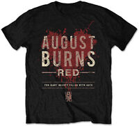 AUGUST BURNS RED Too Many Hearts Filled With Hate T-SHIRT OFFICIAL MERCHANDISE