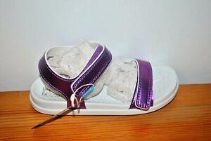 Native Shoes Girls' Charley Purple Metallic Sandals - Size 11