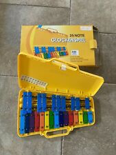 More details for performance percussion g2-g4 25 note glockenspiel
