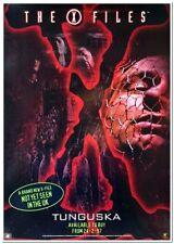 X-FILES - FILE 7: TUNGUSKA - 1997 - Original UK DVD Poster - DAVID DUCHOVNY