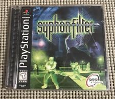 Syphon Filter (Sony PlayStation 1, 1999) Complete w/ Manual, Black Label, Tested