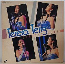 [RARE] Teresa Teng concert live Laser Disc LD NHK hall Tokyo Japan 1985