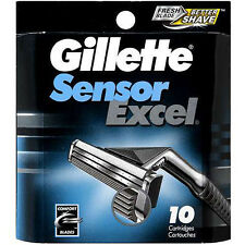 Gillette Sensor Refill Cartridges 10 Count