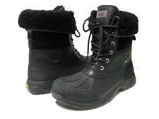 UGG BUTTE MEN WINTER BOOTS LEATHER BLACK US 11.5 /UK 10.5 /EU 45