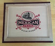 Front Porch Classics Mexican Train Dominoes In Wooden Box