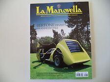 LA MANOVELLA 3/2012 CARROZZIERE BERTONE/PACKARD/GILERA NETTUNO 250/VESPA 98