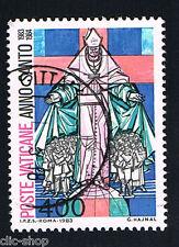VATICANO 1 FRANCOBOLLO ANNO SANTO PAPA 1983 usato