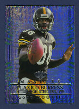 PLAXICO BURRESS ROOKIE CARD RARE: 2000 COLLECTORS EDGE MASTERS HOLOGRAPHIC  #243