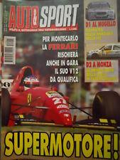 Auto & Sport ROMBO 21 1995 Montecarlo Ferrari con il nuovo motore V12