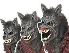Adult Std. Werewolf Ani-motion Scary Mask - Animal Masks