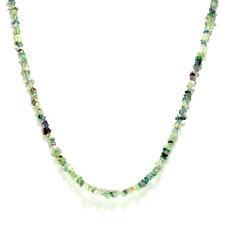 Tibetan Nepalese Fluoride Stone Beads Necklace Artisan Handcrafted Jewelry 103E