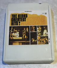 Lear Jet Stereo 8 — 8 Track Tape The Kinks Greatest Hits! Rare !