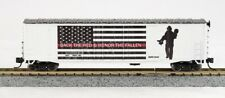 """N FIRST RESPONDERS """"BACK THE RED"""" 50FT BOXCAR 0001-006068"""