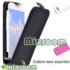 CUSTODIA COVER FLIP CASE PER SAMSUNG GALAXY ACE 4 G357