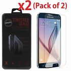 Premium Tempered Glass Clear Screen Protector for Samsung Galaxy S6