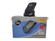 Palm M105 Handheld + HotSync Cradle + Stylus + Internet/Email Ready Pda