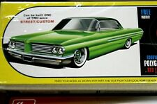 Model Car Parts AMT-(1962 Pontiac) ,  Body,Glass ,Chrome ,Interior,CHASSIS  1/25