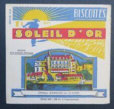 Buvard BISCOTTES SOLEIL D OR AMBOISE  blotter 2
