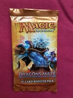 Magic The Gathering New Sealed Booster Pack DRAGON'S MAZE MTG