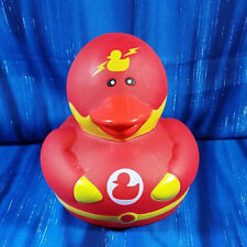 Super Hero Coin Bank Flash Style Rubber Duck