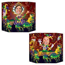 Mardi Gras temática Foto Prop-celebraciones de carnaval recorte Fiesta Decoraciones