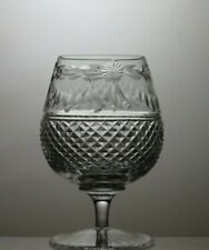 "STUART CRYSTAL""BEACONSFIELD"" CUT 12 OZ BRANDY GLASS - 5"" TALL"