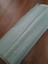 "Utility Fabric Pillow Ticking Blue 35 yards x 30"""