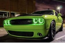 2015+ Dodge Challenger RGBW DRL Halo Headlight Boards + Bluetooth Controller