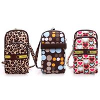 Shoulder Bag Wallet Purse Nylon Coin Cell Phone Case Mobile Bag Pouch Arm Pack