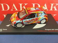 Die cast 1/43 Modellino Auto Peugeot 207 S2000 Rally Ypres 2009 F. Loix