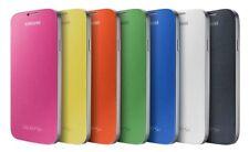 Samsung Galaxy S4 OEM Folio Flip Cover Case Blue Green Orange Pink