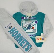 Vintage 1993 Charlotte Hornets Youth Sweatsuit Hoodie Pants Set 2T NOS