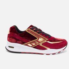 Brooks Regent Red Gold Sneaker Men New $130 Retro Size 8.5 Running