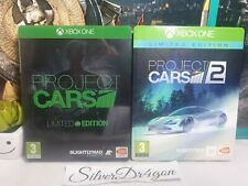 Project Cars 1 & 2 Limited Steelbook Edition Xbox One Spiele Bundle
