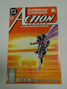 DC Comics ACTION COMICS #598 March 1988 1st Appearance of Checkmate