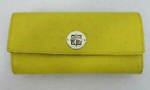 Kate Spade New York Goldenrod Envelope Wallet Leather PWRU1675 In Original Box