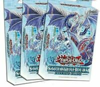 Yu-Gi-Oh! x3 Freezing Chains Structure Deck 1st Edition Ice Barriers -new in