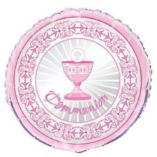 Ballons de fête roses rondes pour la maison, pour communion