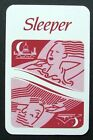 1 x Joker playing card single swap Train Sleeper Railway Travel Europe AT664