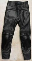 Leather Sports Motorcycle Motorbike Jeans Pants Trousers - Medium