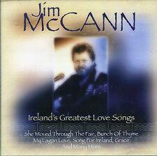 JIM McCANN - IRELAND'S GREATEST LOVE SONGS (NEW SEALED CD)