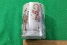 NEW, Holiday Lantern with Battery Operated Flameless Candle