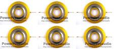 6pcs Diaphragm for JBL, 2404, 2404H, 2404H-1,2405,2405J, 075, 076,8ohm