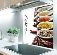 60cm x 75cm Digital Print Glass Splashback Heat Resistant  Toughened 550