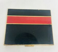 Vintage Art Deco Elgin America Enamel Compact Slim Design Colors Bright
