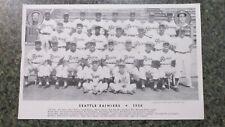 1953 SEATTLE RAINIERS TEAM PHOTO-RARE