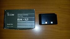 ICOM BA-12 BA12 ADATTATORE RICARICA ICOM IC 2SE-SAT