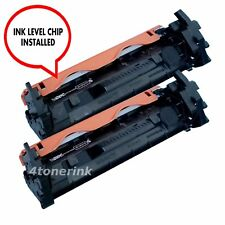 2pk CF217A 17A Toner Cartridge For Hp Lasejet M130fn M130fw M102w M102a +CHIP
