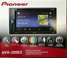 "Pioneer - AVH-200EX - Double 2 Din  DVD/MP3/CD Player 6.2"" Touchscreen Bluetooth"