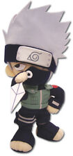 "REAL AUTHENTIC 8"" Naruto Kakashi  Plush Doll Toy (GE-7037)"